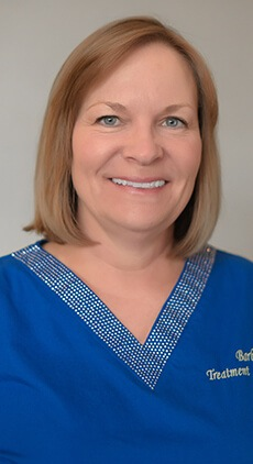 Treatment Coordinator, Barbara DeBenedetto